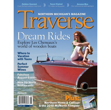 August 2010 Traverse, Northern Michigan's Magazine