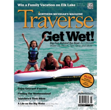 August 2012 issue of Traverse, Northern Michigan's Magazine