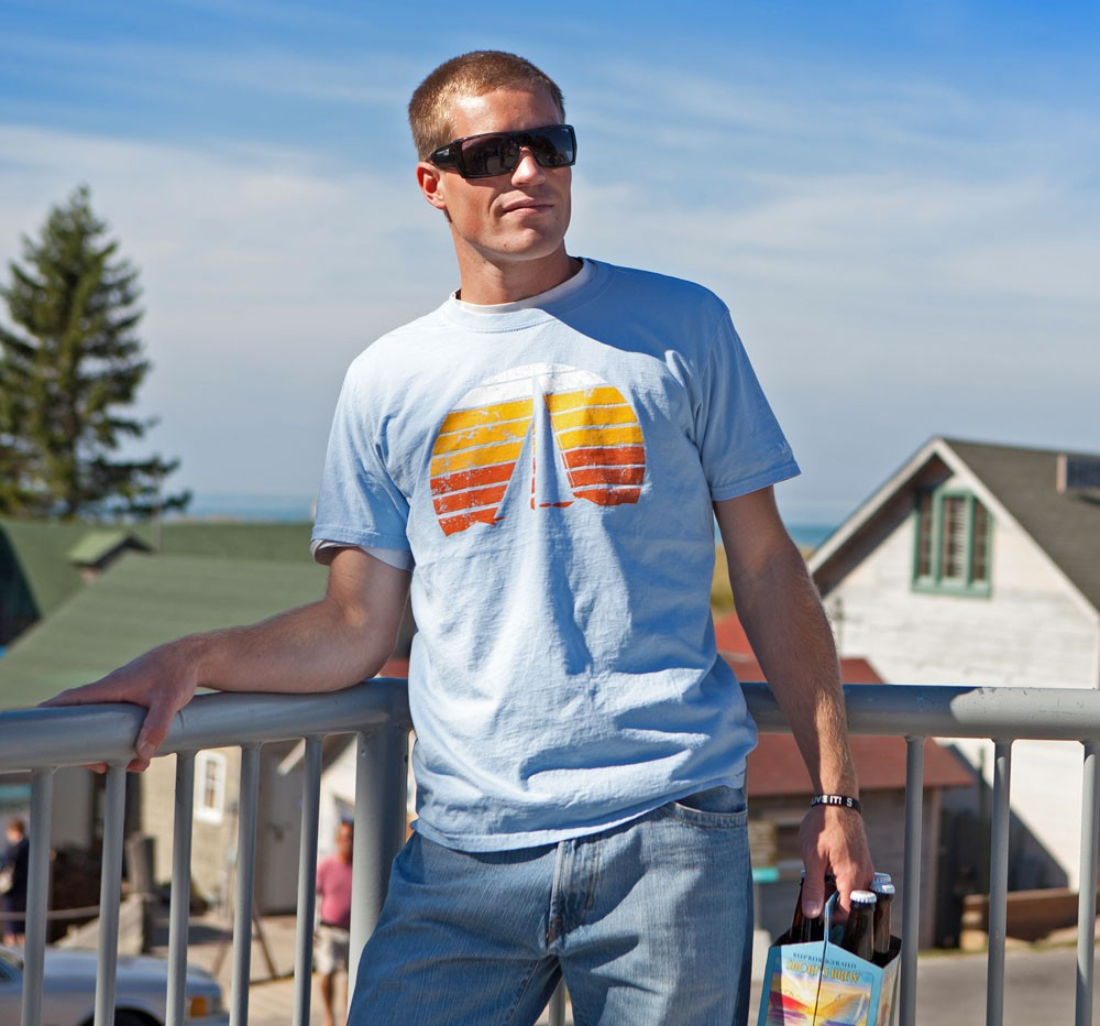 Sunset Sail Men's T-shirt