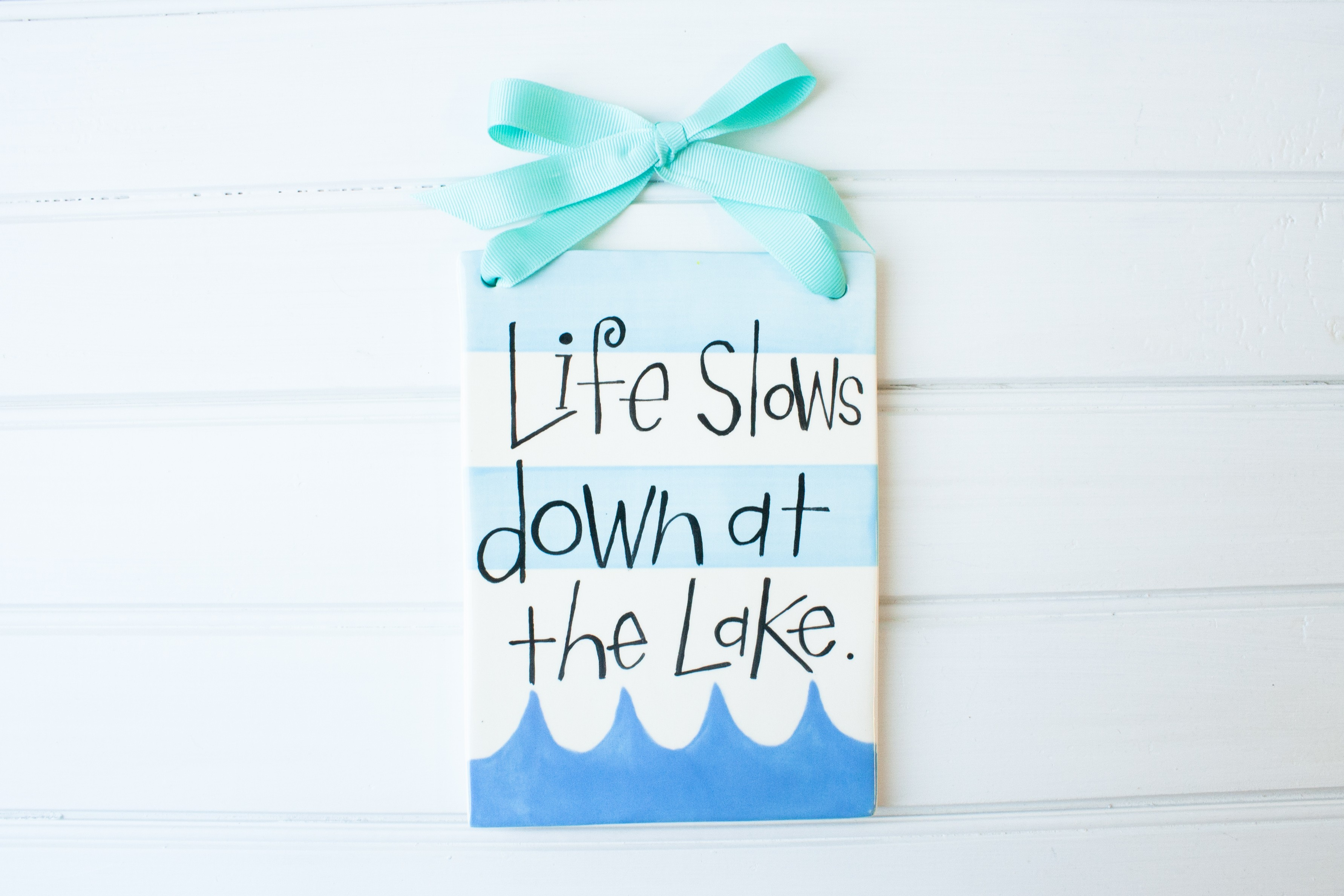Lake Tile: Life Slows Down At The Lake