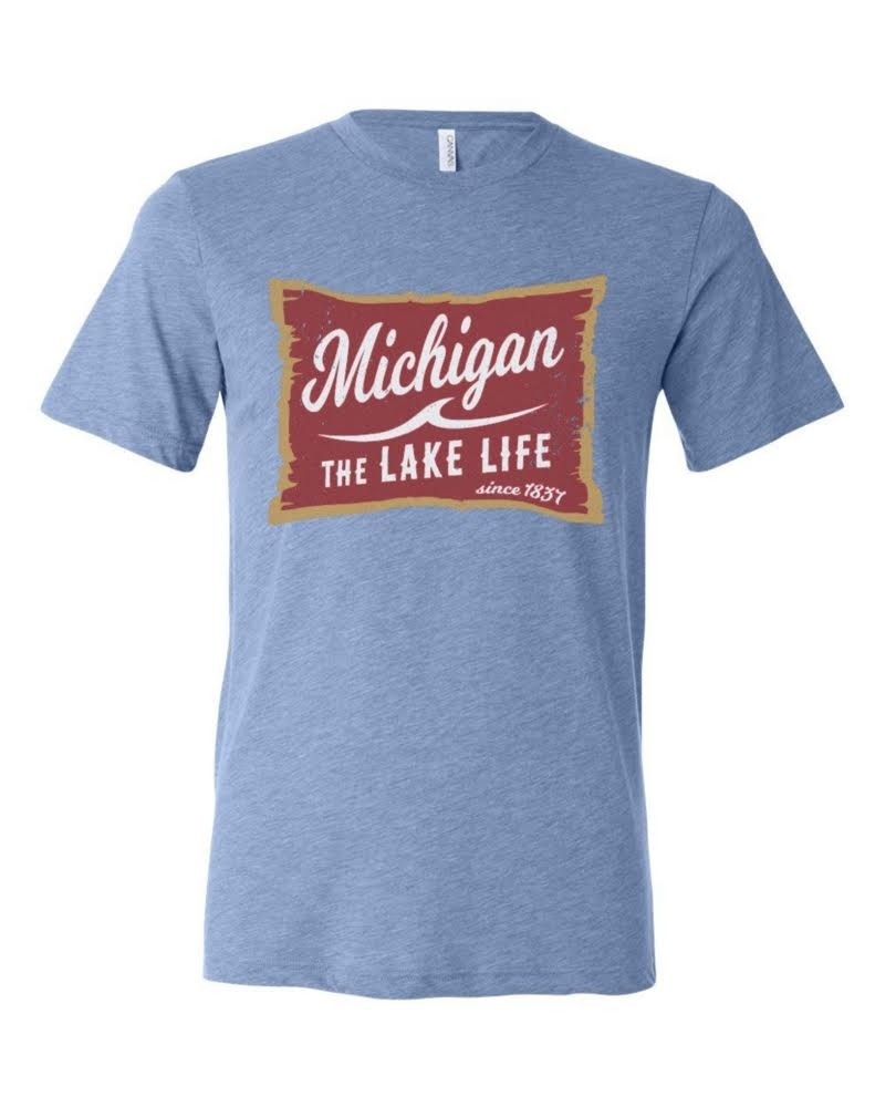 The Lake Life Unisex Triblend Tee