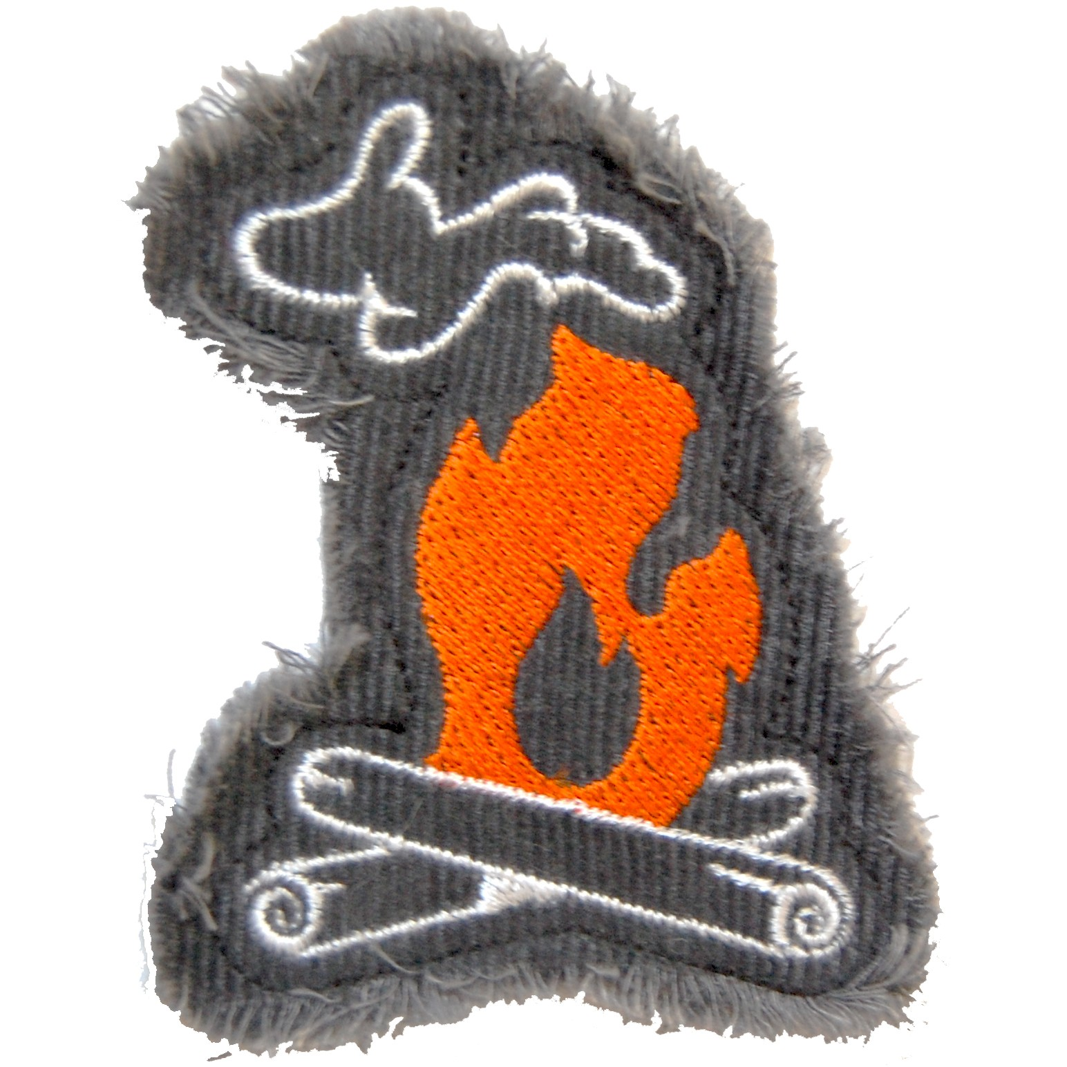 Michigan Campfire Iron-on Patch