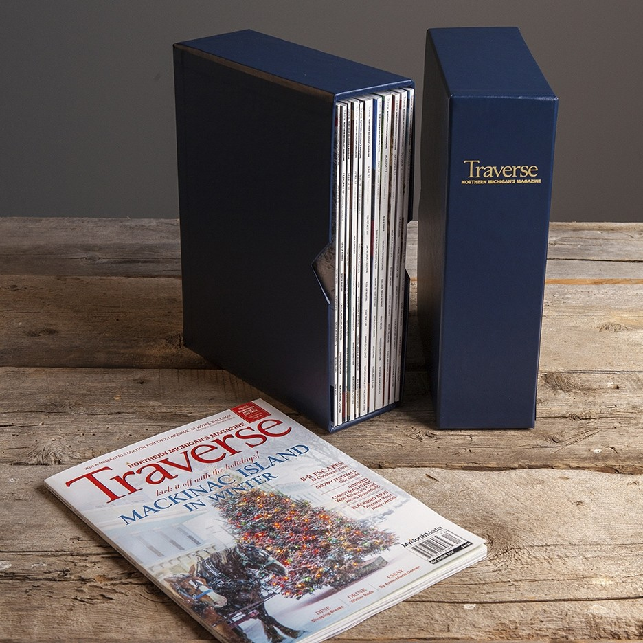 Slipcase for Traverse, Northern Michigan's Magazine