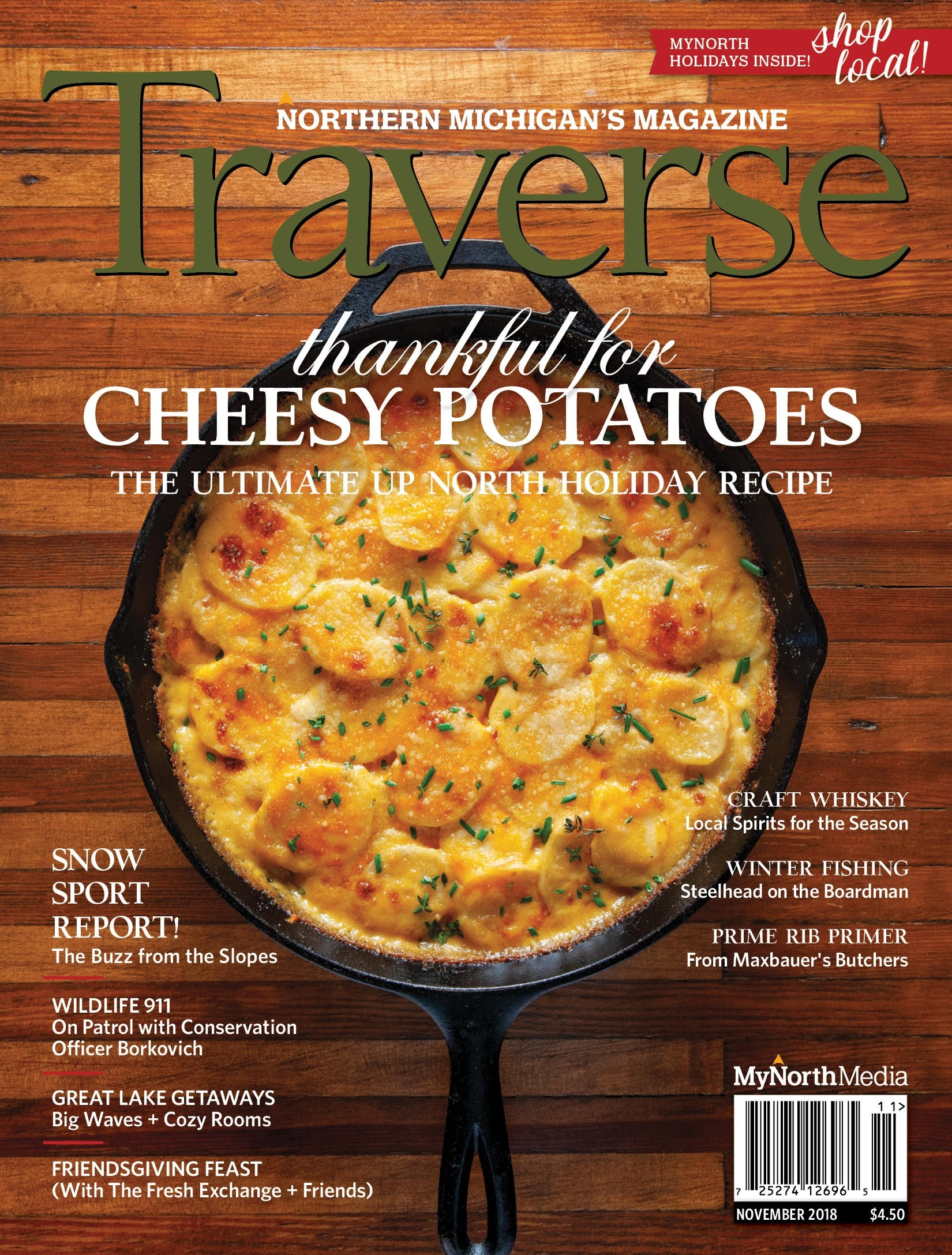 November 2018 Traverse, Northern Michigan's Magazine