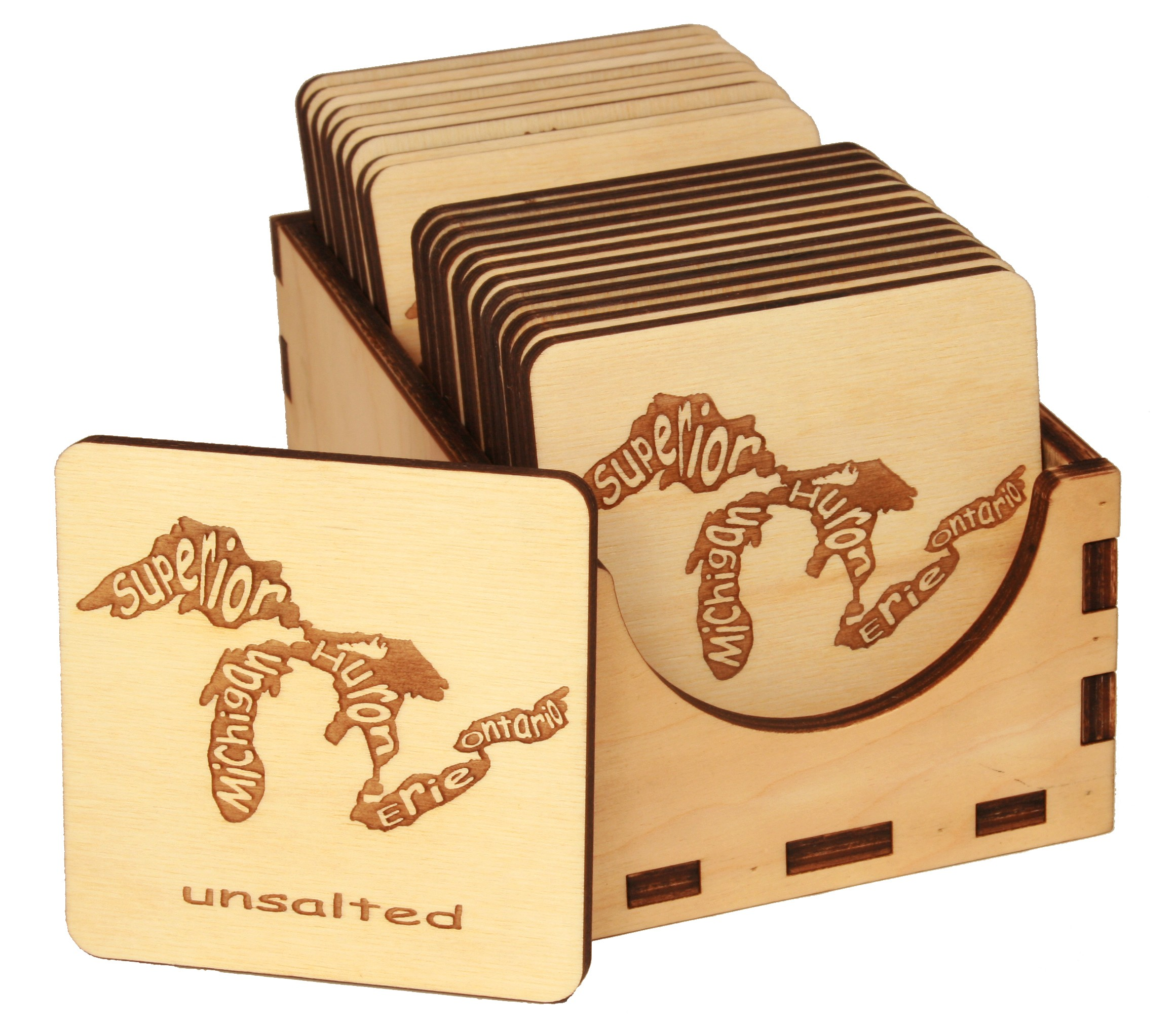Unsalted Coasters