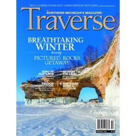 Traverse Magazine February 2016 Breathtaking Winter Pictured Rocks