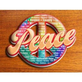"""Peace"" Sticker"