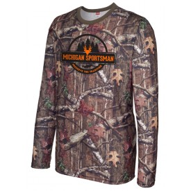 Mossy Oak ® Sublimated Long Sleeve Shirt Michigan