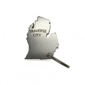 Michigan Bottle Opener - Traverse City