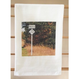 """Scenic Drive"" MI Heart Kitchen Towel"