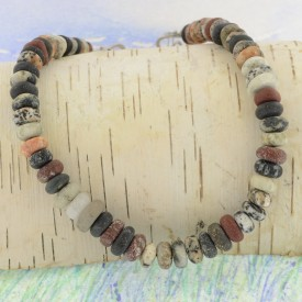 Lake Michigan Beachstone Necklace
