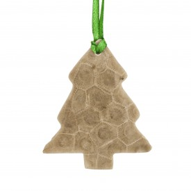 Petoskey Stone Christmas Tree Ornament