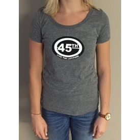 Womens Short Sleeve Scooptri Blend - Premium Heather