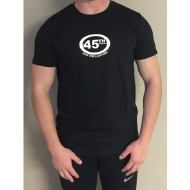Men's Short Sleeve T Shirt - Black Heather Gry