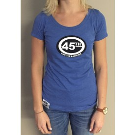 Womens Short Sleeve Scooptri Blend - Vintage Royal