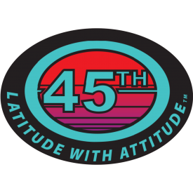 Latitude with Attitude Decal