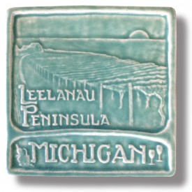 Leelanau Peninsula Art Tile