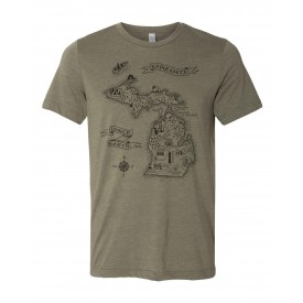 Lord of Michigan Unisex Triblend Tee