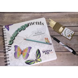 Encouragements: A Meditative Coloring Journal