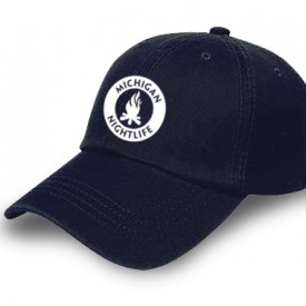 Michigan Nightlife Navy Cap