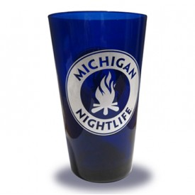 Michigan Nightlife Pint Glass
