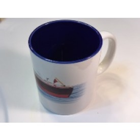 Woodyboat mug-blue
