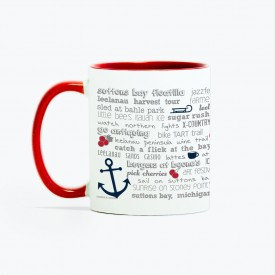 Mug - 11oz Suttons Bay Bucket List