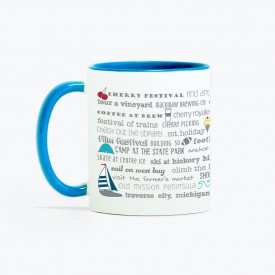 Mug - 11oz Traverse City Bucket List