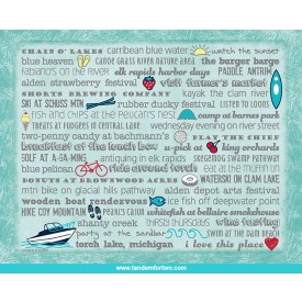 Notecards - Set of 8 Torch Lake Bucket List