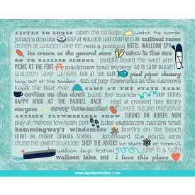 Notecards - Set of 8 Walloon Lake Bucket List