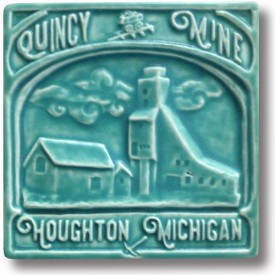 Quincy Mine Art Tile