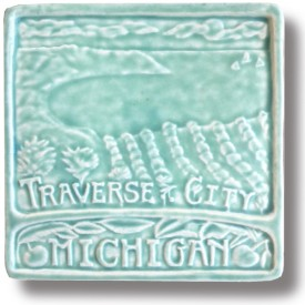 Traverse City Art Tile