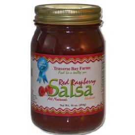 Red Raspberry Salsa - Medium