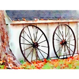 Wagon Wheels Photo