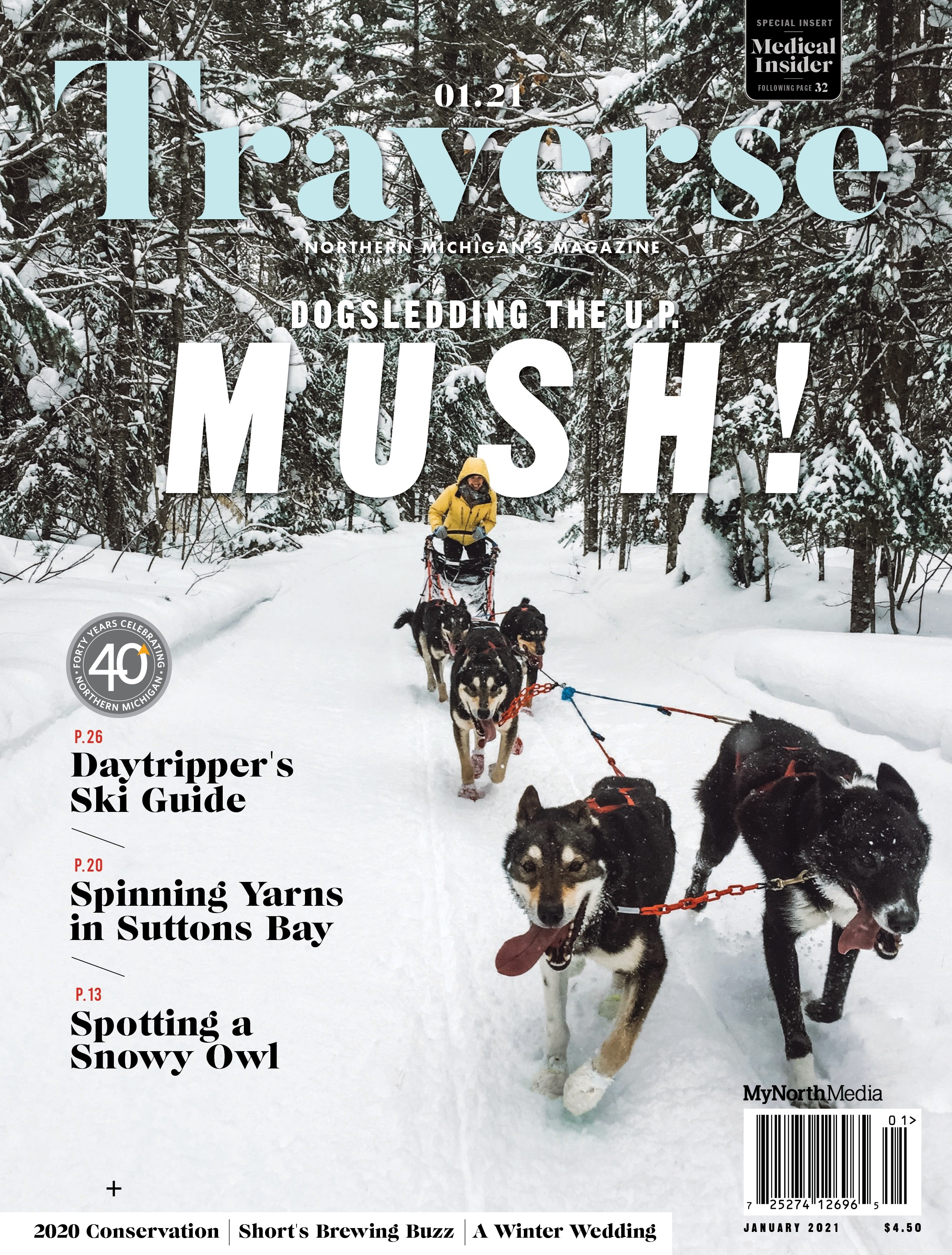 January 2021 Traverse, Northern Michigan's Magazine