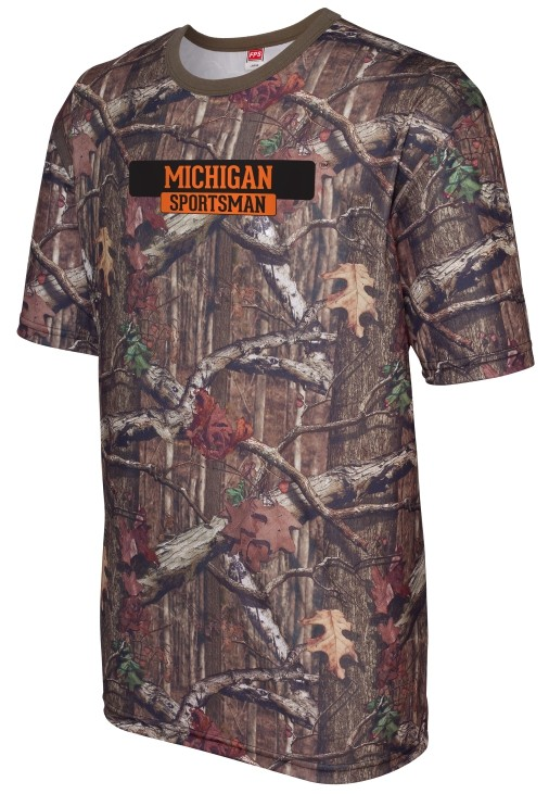 Mossy Oak ® Sublimated Short Sleeve Shirt Michigan