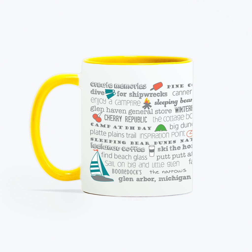 Mug - 11oz Glen Arbor Bucket List
