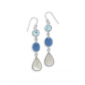 Lake Michigan Drop Earrings