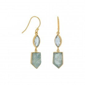 Sleeping Bear Bay Drop Earrings