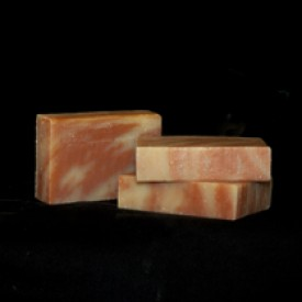 Cherry Almond Artisan Soap: 6-Bar Gift Box
