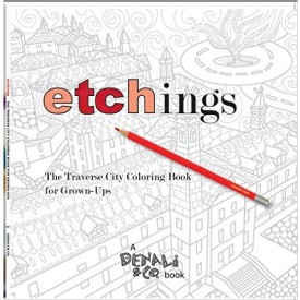 Etchings: The Traverse City Coloring Book for Grown-Ups