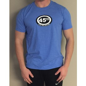 Men's Short Sleeve T Shirt - Vintage Royal