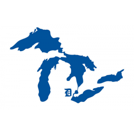 Great Lakes Proud Location Stickers