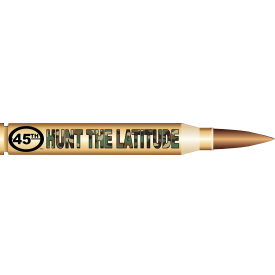Hunt the Latitude Decal