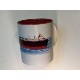 Woodyboat Mug-Red