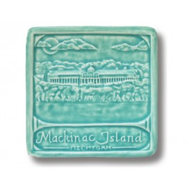 Mackinac Island Art Tile