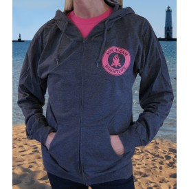 Michigan Nightlife Beach Zip Hoodie