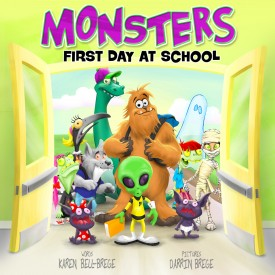 Monsters First Day at School