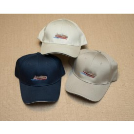 Navy woodyboat embroidered cap