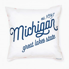 "Pillow - 18"" Michigan Pride"
